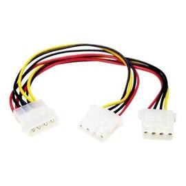 StarTech.com Y-Kabel 4 pin Molex Stecker - Molex Splitter IDE Stromkabel - 2 x LP4 intern - Stromkabel - interne Produktbild