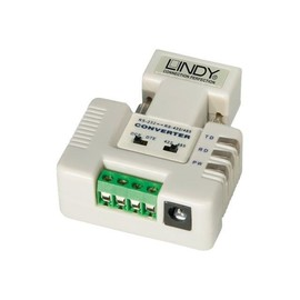 Lindy RS232 <> RS422/RS485 Converter - Serieller Adapter - RS-232C - RS-232 Produktbild