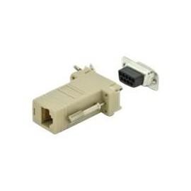 ASSMANN - Serieller Adapter - DB-9 (S) bis RJ-45 (R) - Daumenschrauben - beige Produktbild