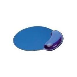 Secomp - Mauspad mit Handgelenkpolsterkissen - durchsichtig blau Produktbild