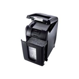 Aktenvernichter Auto+ 300X SmarTech bis 300 Blatt 4x40mm Partikelschnitt Rexel 2103250EUS (Sicherheitsstufe P-4) Produktbild