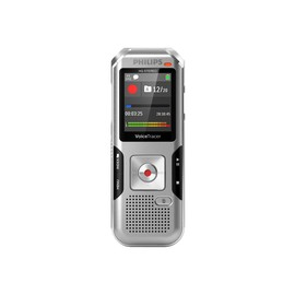 Philips Voice Tracer DVT4010 - Voicerecorder - 110 mW - 8 GB - Anthrazit, Shadow Silver Produktbild