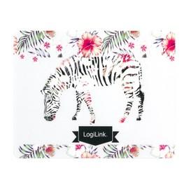 LogiLink Mouse Pad Zebra - Mauspad Produktbild