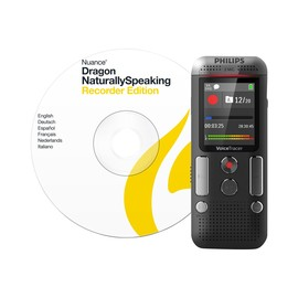Philips Voice Tracer DVT2710 - Voicerecorder - 110 mW - 8 GB - Chrom, Anthrazit Produktbild