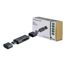 Argus V16-2.0 - Kartenleser (SD, TransFlash, microSD, SDHC, SDXC) - micro USB 2.0 / USB 2.0 / USB-C Produktbild