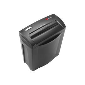 Aktenvernichter Alpha bis 5 Blatt 4x38mm Partikelschnitt schwarz/silber Rexel 2102023EU (Sicherheitsstufe P-4) Produktbild