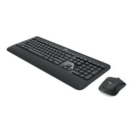 Logitech MK540 Advanced - Tastatur-und-Maus-Set - kabellos - 2.4 GHz - GB Englisch QWERTY Produktbild
