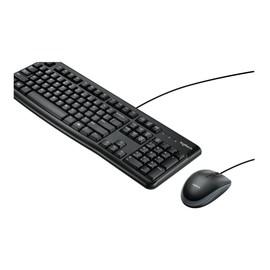 Logitech Desktop MK120 - Tastatur-und-Maus-Set - USB - International NSEA Produktbild