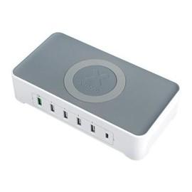 xtorm XPD16 Vigor Power Hub - Netzteil - 55 Watt - 3 A - Quick Charge 3.0 - 6 Ausgabeanschlussstellen (USB, USB-C) Produktbild