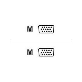 Digital Data - VGA-Kabel - HD-15 (VGA) (M) bis HD-15 (VGA) (M) - 1.8 m - geformt Produktbild