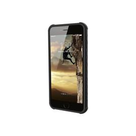 UAG Monarch - Hintere Abdeckung für Mobiltelefon - Polycarbonat, Gummi, feinstes Leder - Graphite - für Apple Produktbild