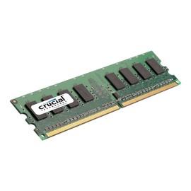 Crucial - DDR2 - 1 GB - DIMM 240-PIN - 667 MHz / PC2-5300 - CL5 Produktbild