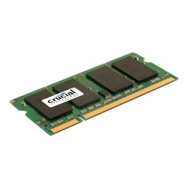 Crucial - DDR2 - 2 GB - SO DIMM 200-PIN - 800 MHz / PC2-6400 - CL6 Produktbild