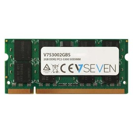 V7 - DDR2 - 2 GB - SO DIMM 200-PIN - 667 MHz / PC2-5300 - ungepuffert Produktbild