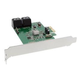 InLine - Speicher-Controller - SATA 6Gb/s - 6 Gbit/s - PCIe 2.0 Produktbild