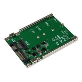 StarTech.com M.2 NGFF SSD auf 2.5 Zoll SATA Adapter / Konverter - NGFF auf SATAIII Adapter Karte - Produktbild