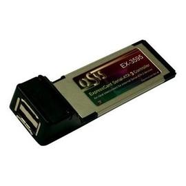 Exsys EX-3595 - Speicher-Controller - 2 Sender/Kanal - eSATA 6Gb/s - 6 Gbit/s - ExpressCard Produktbild