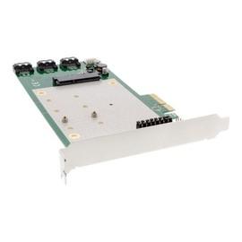 """InLine - Speichercontroller (RAID) - 2,5"""" / 2 x M.2 gemeinsam genutzt (6,4 cm / 2 x M.2 gemeinsam genutzt) - 4 Produktbild"""