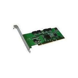 Exsys EX-3400 - Speichercontroller (RAID) - 4 Sender/Kanal - SATA 3Gb/s - 3 Gbit/s - RAID 0, 1, 5, 0+1 Produktbild