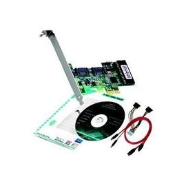 Dawicontrol DC 300e RAID - Speichercontroller (RAID) - 2 Sender/Kanal - SATA 3Gb/s - 3 Gbit/s - Produktbild