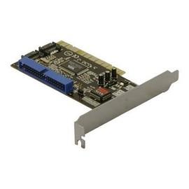 DeLOCK Controller card 2x SATA, 1x IDE - Speichercontroller (RAID) - ATA / SATA 1.5Gb/s - 1.5 Gbit/s - RAID 0, 1, JBOD, Produktbild