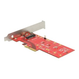 DeLOCK PCI Express x4 Card > 1 x internal NVMe M.2 Key M 110 mm with heat sink - Speicher-Controller - 1 Produktbild
