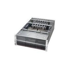 Supermicro SuperServer 4048B-TRFT - Server - Rack-Montage - 4U - vierweg - RAM 0 MB Produktbild