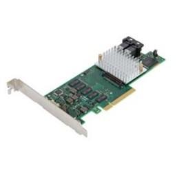 Fujitsu PRAID EP400i - Speichercontroller (RAID) - 8 Sender/Kanal - SATA 6Gb/s / SAS 12Gb/s - Produktbild