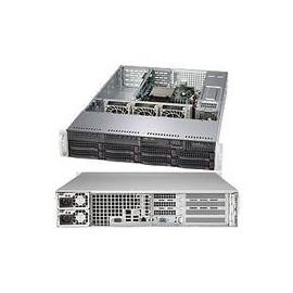 Supermicro SuperServer 5028R-WR - Server - Rack-Montage - 2U - 1-Weg - RAM 0 MB Produktbild