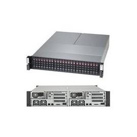 Supermicro SuperStorage Server 2028R-DE2CR24L - 2 Knoten - Cluster - Rack-Montage - 2U - zweiweg Produktbild