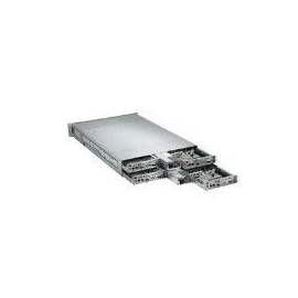 Supermicro A+ Server 2022TG-HIBQRF - 4 Knoten - Cluster - Rack-Montage - 2U - zweiweg Produktbild