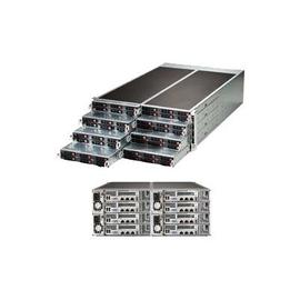 Supermicro SuperServer F617R2-R72+ - 8 Knoten - Cluster - Rack-Montage - 4U - zweiweg Produktbild