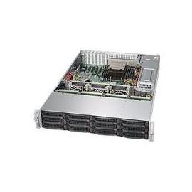 Supermicro SuperStorage Server 6028R-E1CR12L - Server - Rack-Montage - 2U - zweiweg - RAM 0 MB Produktbild