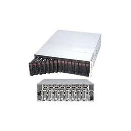 Supermicro SuperServer 5038ML-H8TRF - 8 Knoten - Cluster - Rack-Montage - 3U - 1-Weg Produktbild