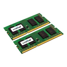 Crucial - DDR3L - 8 GB: 2 x 4 GB - SO DIMM 204-PIN - 1600 MHz / PC3-12800 - CL11 Produktbild