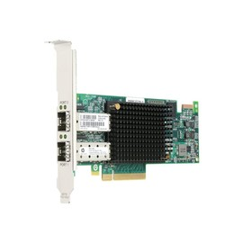 HPE StoreFabric SN1100E - Hostbus-Adapter - PCIe 3.0 x8 Low-Profile - 16Gb Fibre Channel x 2 - Produktbild