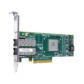 QLogic 16Gb FC Dual-Port HBA - Hostbus-Adapter - PCIe 3.0 x4 - 16Gb Fibre Channel x 2 - für System x3100 M5; Produktbild