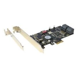 InLine - Speichercontroller (RAID) - SATA 3Gb/s - 3 Gbit/s - RAID 0, 1, 5, 10 - PCIe x1 Produktbild
