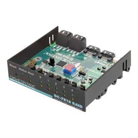 Dawicontrol DC 7515 RAID - Speichercontroller (RAID) - 5 Sender/Kanal - SATA 3Gb/s - 3 Gbit/s - Produktbild