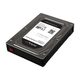 """StarTech.com 2,5"""" auf 3,5"""" Aluminium SATA Festplattengehäuse für HDD/SSD bis 12,5mm - Speichergehäuse - 2.5"""" (6.4 cm) Produktbild"""