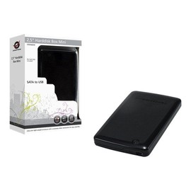 "Conceptronic CHD2MUB 2,5"" Harddisk Box Mini - Speichergehäuse - 2.5"" (6.4 cm) - SATA 1.5Gb/s - USB 2.0 Produktbild"