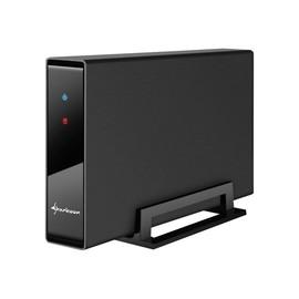 """Sharkoon Swift-Case PRO USB 3.0 - Speichergehäuse - 3.5"""" (8.9 cm) - SATA - USB 3.0 Produktbild"""