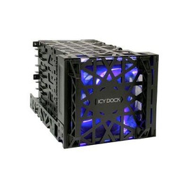 """Cremax ICY Dock Black Vortex MB074SP-B - Gehäuse für Speicherlaufwerke - 3.5"""" (8.9 cm) - 5,25"""" bis 3,5"""" (13.3 cm to Produktbild"""