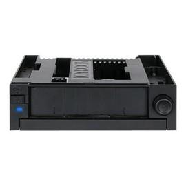 """ICY DOCK DuoSwap MB971SPO-B - Gehäuse für Speicherlaufwerke - 3.5"""" (8.9 cm) - 5.25"""" to 1 x 3.5"""" and 1 x 5.25"""" Slim Produktbild"""