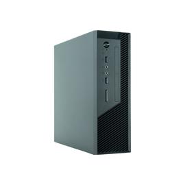 Chieftec UNI Series BU-12B - Tower - Mini-ITX 250 Watt - Schwarz - USB/Audio Produktbild