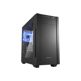 Sharkoon S1000 Window - Tower - micro ATX - ohne Netzteil - Schwarz - USB/Audio Produktbild
