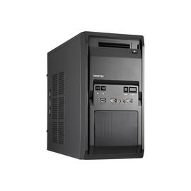 Chieftec LIBRA Series LT-01B - Mini Tower - micro ATX 350 Watt - Schwarz - USB/Audio Produktbild