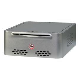 Inter-Tech Q-5 - Ultra Small Form Factor - Mini-ITX - Netzteil 60 Watt - Silber Produktbild
