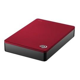 Seagate Backup Plus STDR4000902 - Festplatte - 4 TB - extern (tragbar) - USB 3.0 - Rot Produktbild