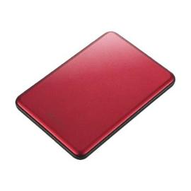 BUFFALO MiniStation Slim - Festplatte - 1 TB - extern (tragbar) - USB 3.0 - Rot Produktbild